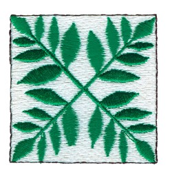 Quilt Square embroidery design