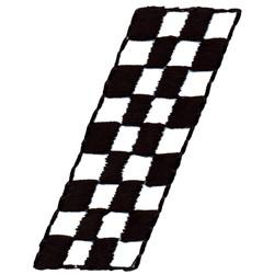Racing Stripe embroidery design