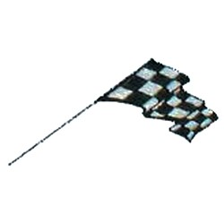 Checkered Racing Flag embroidery design