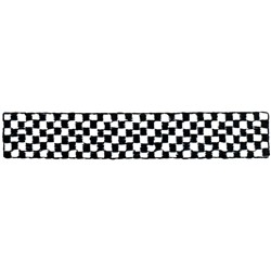 Checkered Racing Strip embroidery design