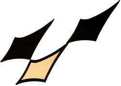 Racing Flag Applique embroidery design