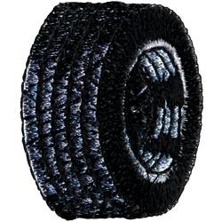 Tire embroidery design