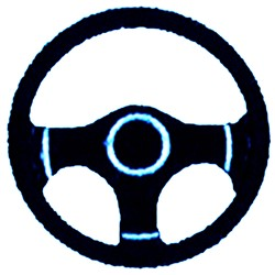 Steering Wheel embroidery design