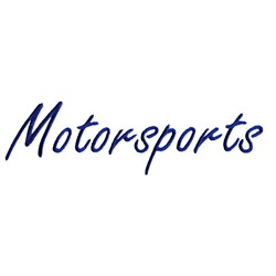 Motorsports embroidery design