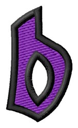 Pointed Purple b embroidery design