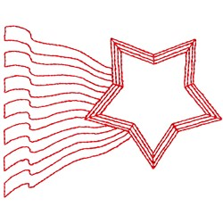 Star And Stripes embroidery design