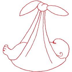 Baby Bundle embroidery design