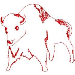 Ragwork Buffalo embroidery design