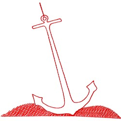 Anchor Ragwork embroidery design