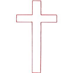 Latin Cross Ragwork embroidery design