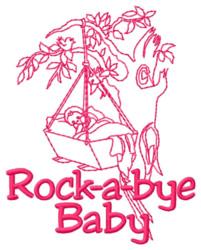Rockabye Baby embroidery design