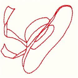 Hat Redwork embroidery design