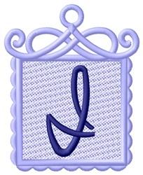 FSL Ornament I embroidery design
