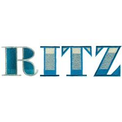 Ritz 0 embroidery design