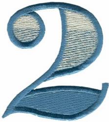 Ritz 2 embroidery design
