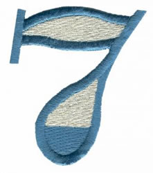 Ritz 7 embroidery design