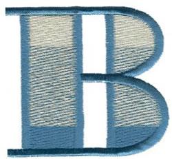Ritz B embroidery design