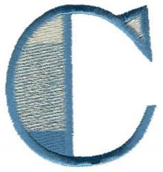 Ritz C embroidery design