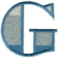 Ritz G embroidery design