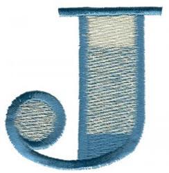 Ritz J embroidery design