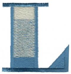 Ritz L embroidery design