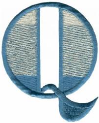 Ritz Q embroidery design