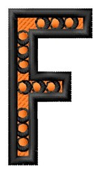 Construction Toy F embroidery design