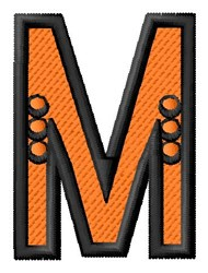 Construction Toy M embroidery design