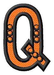 Construction Toy Q embroidery design