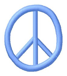 Blue Peace 0 embroidery design
