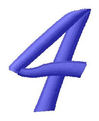 Ribbon Font 4 embroidery design