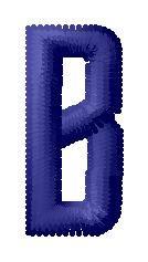 Star B embroidery design
