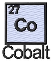 Cobalt embroidery design