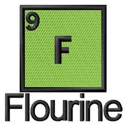 Flourine embroidery design