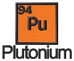 Plutonium embroidery design