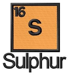 Sulphur embroidery design