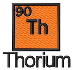 Thorium embroidery design