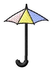 Umbrella Font I embroidery design