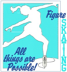 All Things Possible embroidery design