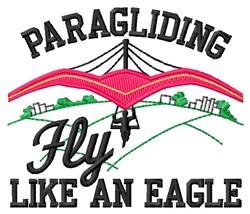 Fly Like Eagle embroidery design