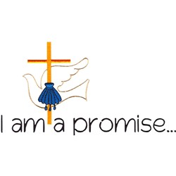 Promise embroidery design