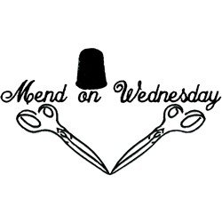 Wednesday embroidery design
