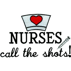 Nurses embroidery design