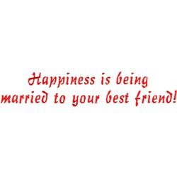 Best Friends embroidery design