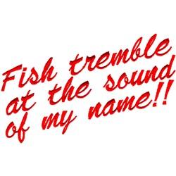 Fish Tremble embroidery design