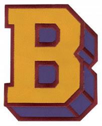 Sport Block B embroidery design
