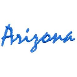 Arizona Text embroidery design