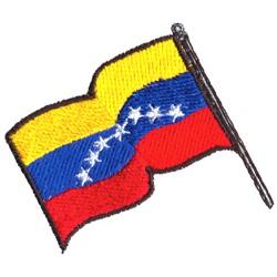 Venezuelan Flag embroidery design