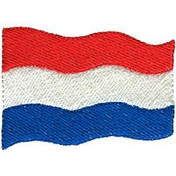 Netherlands Flag embroidery design