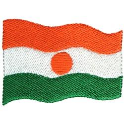 Niger Flag embroidery design